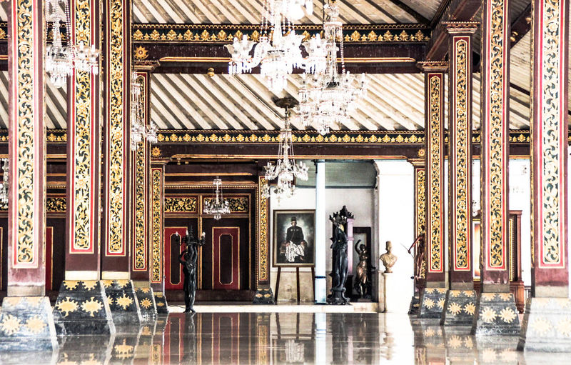 Corridor of pura mangkunegaran