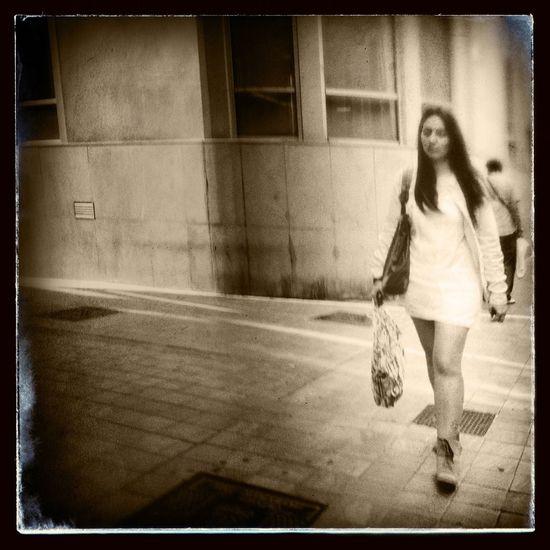 Blackandwhite Hipstamatic Streetphotography Street Portrait