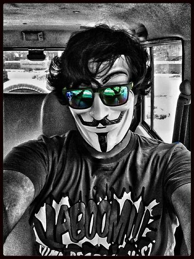 Spyoptics Vforvendetta  Mask Blackandwhite