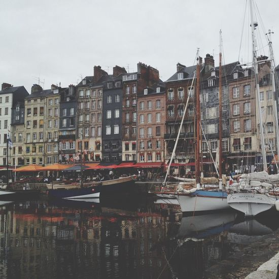 Hafen Honfleur France