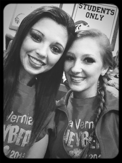 After our comp....gahh we look rough!! :(