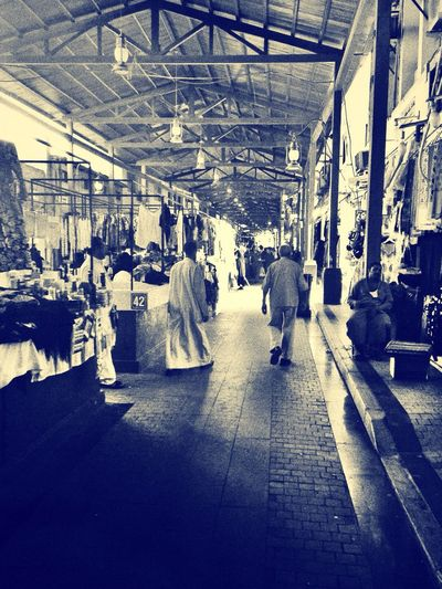 Shopping in kuwait old market as EyeEm Best Shots - Black + White The Path Less Traveled By Pointer Footwear