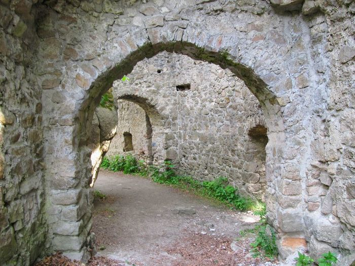 Architecture Brick Wall Castle Castle Gate Castle Walls No People Old Ruin Outdoors Tunnel