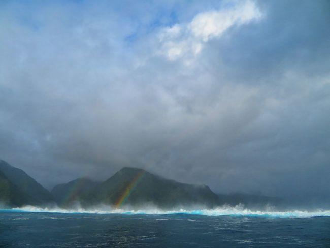 Humpback Whale Water Whale Cyclone Mountain Rainbow Blue Sky Cloud - Sky A New Beginning