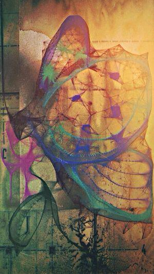 Butterfly Blu. @Mexturescollective NEM Painterly Mob Fiction Mobimag10 NEM GoodKarma