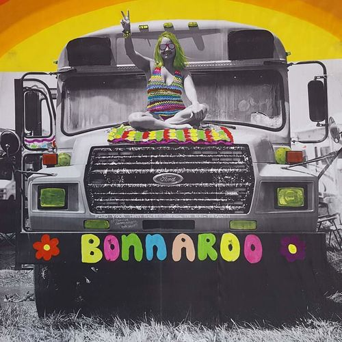 Music Music Festival Peace Pshycodelic Hippie Hippiegirl Bus Bonnaroo Multi Colored No People Outdoors Day Close-up