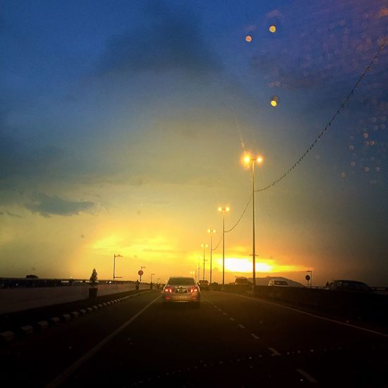 The Sunset Way Back Home