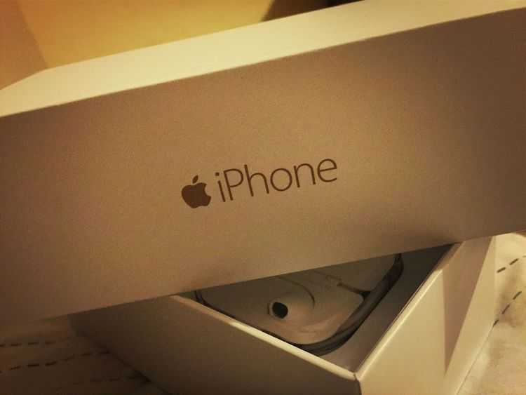 Got my first iPhone today ? Loving it!!! Getting In Touch