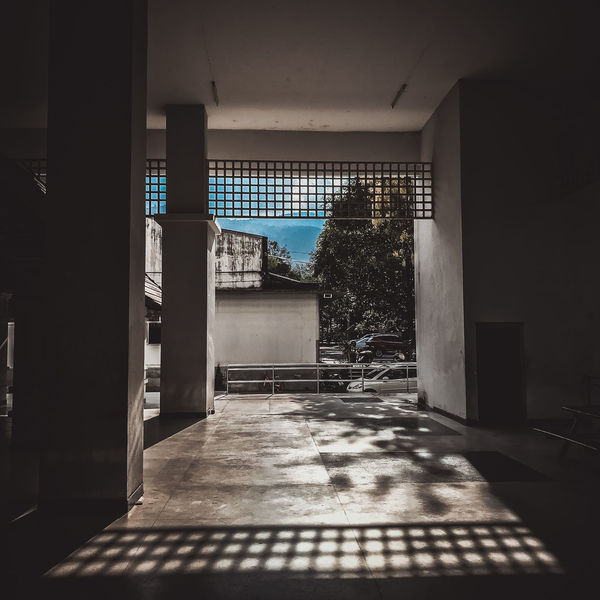 Absence Architectural Column Architecture Building Built Structure Day Direction Door Empty Entrance Flooring Indoors  Nature No People Shadow Sunlight The Way Forward Tiled Floor