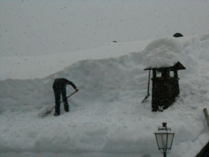 Heavu snow Sauris