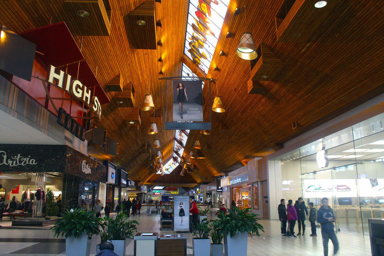 Ceilings in Coquitlam Centre Mall Coquitlam Centre Mall Coquitlam People Retail  Women Adult Large Group Of People Architecture