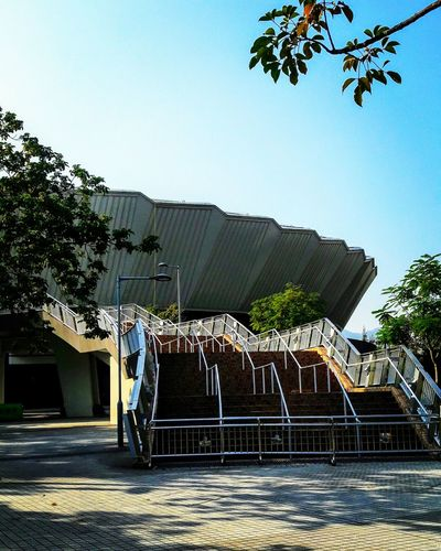 Outdoors No People Day Sky Architecture Building Feature Building Exterior Velodrome Hang Hau