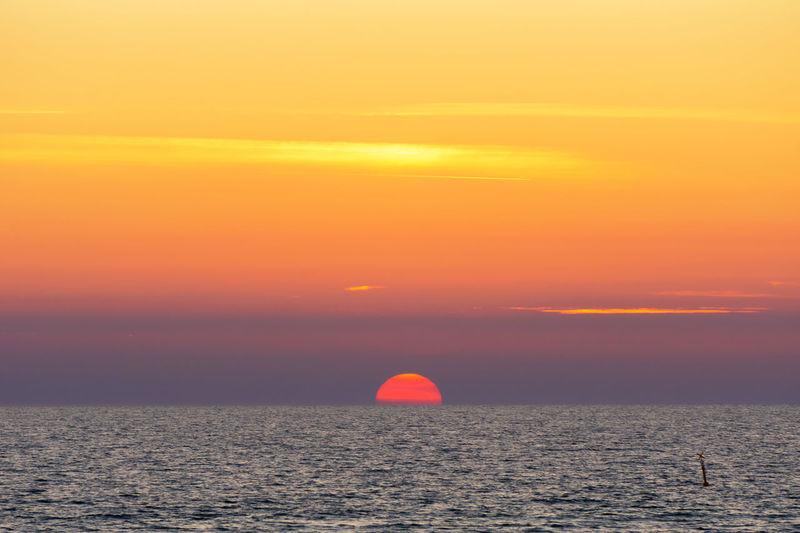Sunset at Kampen Beach Kampen, Sylt Sonnenuntergang Sylt, Germany Beauty In Nature Horizon Horizon Over Water Idyllic Nature No People Ocean Orange Color Outdoors Scenics - Nature Sea Sky Sun Sunset Sylt Tranquil Scene Water Waterfront