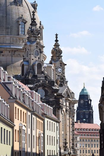 Dresden Building Exterior Built Structure Architecture Building Sky City Travel Destinations