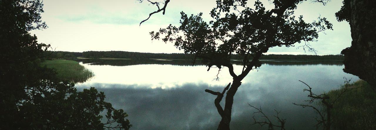 Woda wszędzie woda Jezioro Śniardwy Woda