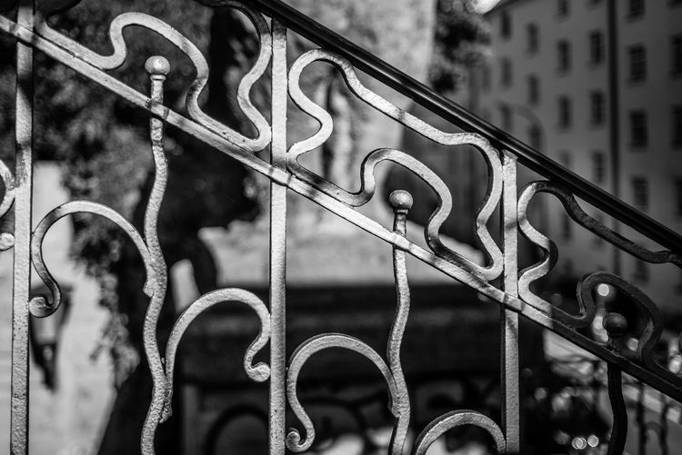 Metal Focus On Foreground No People Close-up Day Barrier Boundary Built Structure Fence Security Safety Architecture Protection Building Exterior Outdoors Pattern Nature Chain Strength Connection