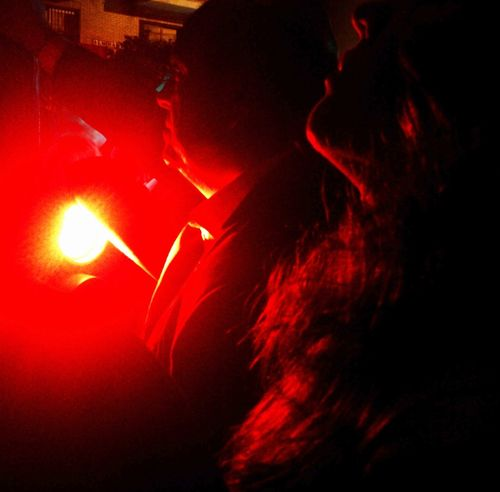 Walking Around Streetphotography Night Lights Movilgrafias Semana Santa Sevilla 2013