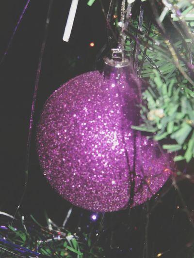 Kugel Weihnachten ♥ Lila