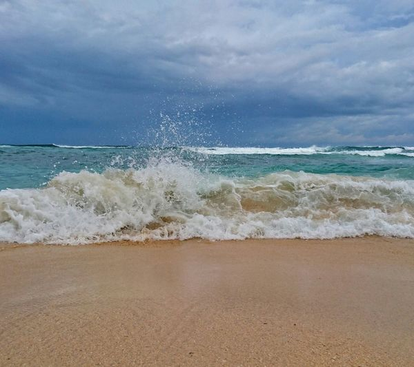 The satisfying sound of the sea wave as it breaks into the shore will calm your senses. Summer2017 Beachcapade Golden Sand Of Bolinao Pangasinan, Philippines Beachphotography Beachph The Great Outdoors - 2017 EyeEm Awards Sommergefühle
