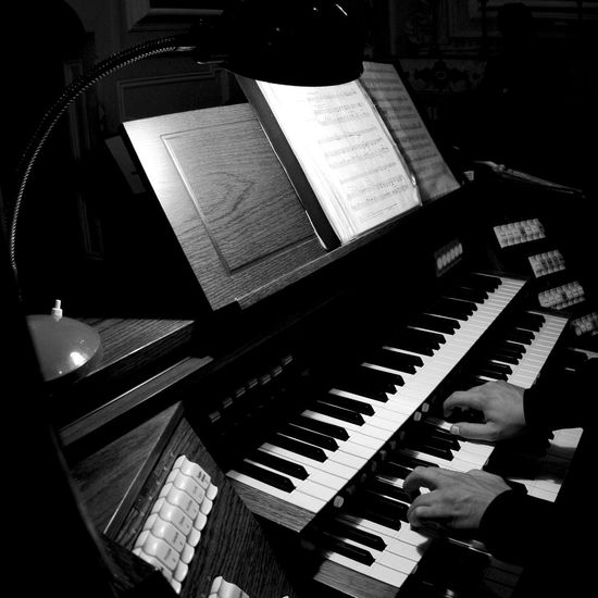 EyeEmNewHere Arts Culture And Entertainment Classical Music Day High Angle View Human Hand Indoors  Keyboard Keyboard Instrument Learning Men Music Musical Instrument Musical Note Musician One Person People Performance Pianist Piano Piano Key Playing Real People Sheet Music Skill  Modern Workplace Culture