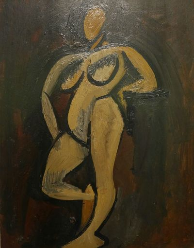 Woman Art Creativity Human Representation Close-up Representation Painted Image Pablo Picasso Picasso Picasso Art  Art And Craft Illustration Art Museum Musee Soulages Rodez Soulages Museum Aveyron Artist Rodez Painting Cubism Soulages Museum Paintings Expo Nude-Art