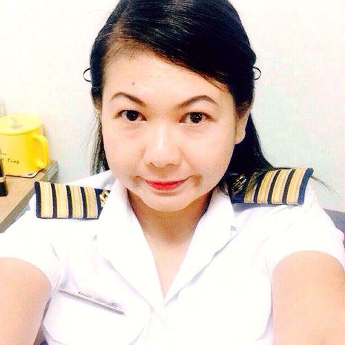 Ampai Jangbumrung 🏌 Uniform Mrta Elegance Everywhere Selfportrait Selfie Face Of EyeEm That's Me Hello World Hi!