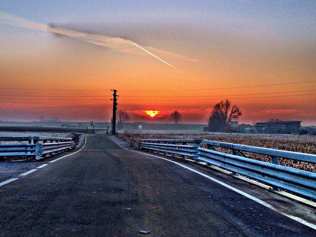 On the road of fate Sunrise... Goodmorning :) Sky Fate