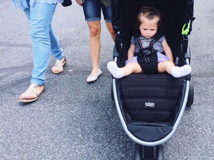 Sassy bb People Stroller Baby Walking Walking Around