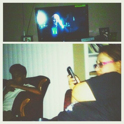 Movie Night ✔ Hanging Out♥ Perfectツ My Two Loves ♥✔