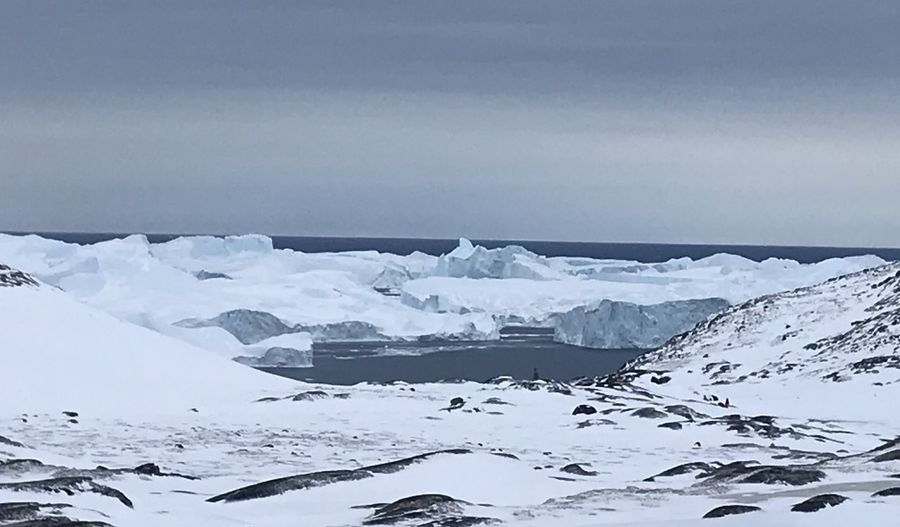 The daylight is returning. EyeEm Best Shots EyeEm Best Shots - Nature Icebergs Ilulissat Nature Nature Photography The Real Greenland This Is Greenland Eyem Nature Lovers  Iceberg Nature_collection Snow