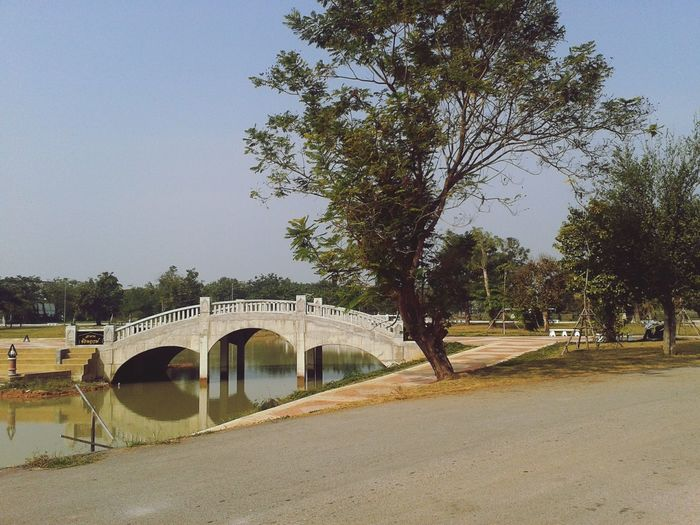 Phitsanulok Park Bridge Noon