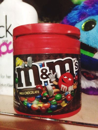 Nothing like a sweet serenity of M&m's!!