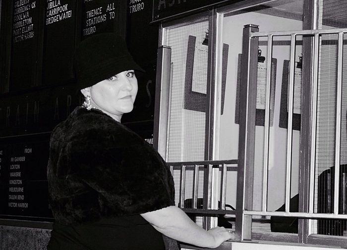 1920's ticket box Vintage Fashion Vintage Photography 1920's Railway Ticket Box Vintage Woman Vintage Fashion