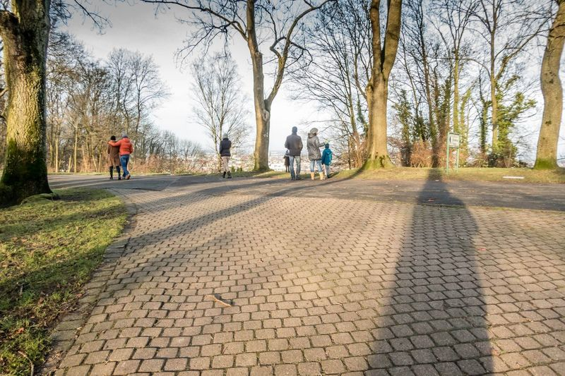 Walking around on a sunny day. Promenade in Bielefeld Germany Taking Photos Bielefeld Sky Landscape People Watching Forrest