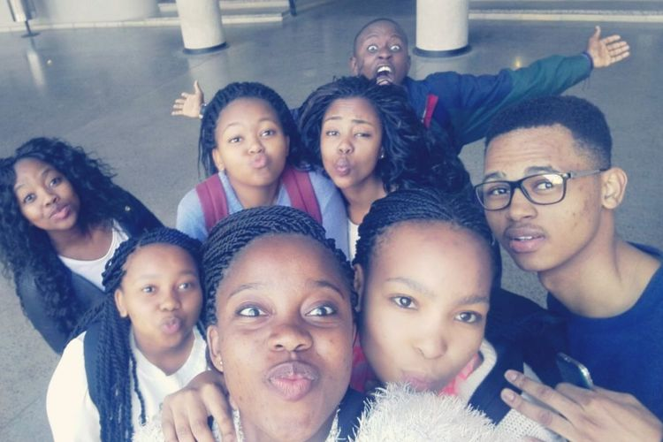 Young hopefuls. Year I MBBCh - Wits University. Medics Wits Authentic Moments -