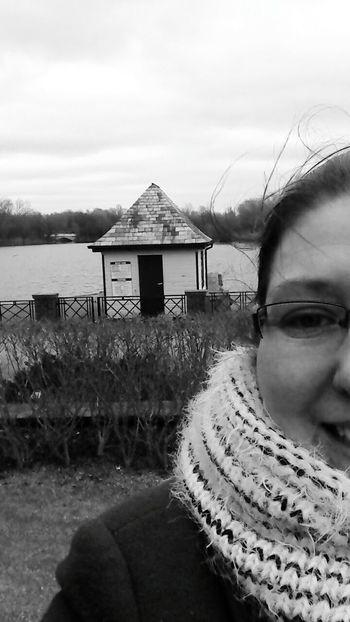 Boating Lake Park Cold Days Walking Around
