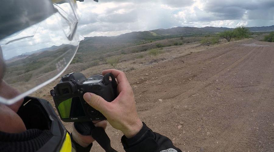 Goprohero4 Motorcycle Trip Off Road