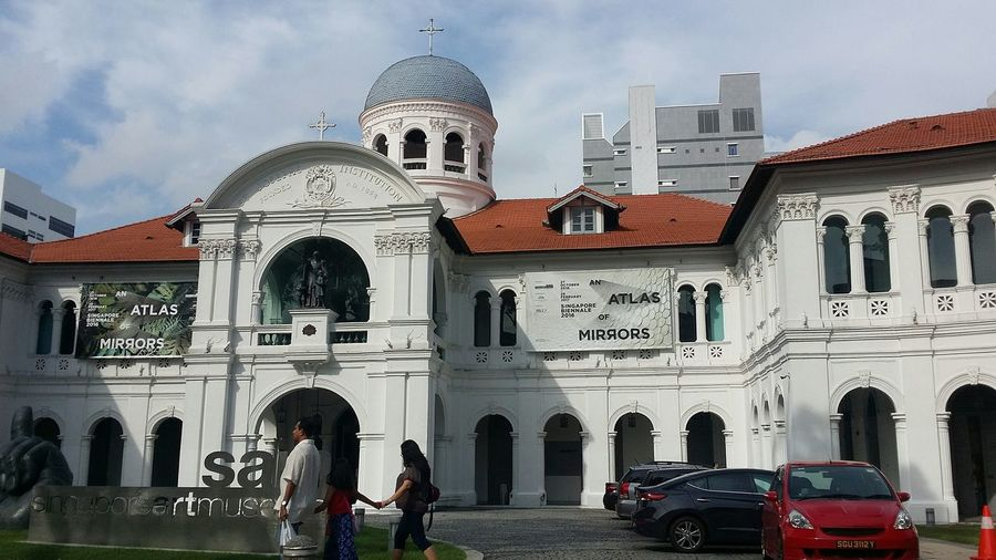 Singapore Art Museum formerly all boys' Catholic School St Joseph's Institution Architecture Singapore