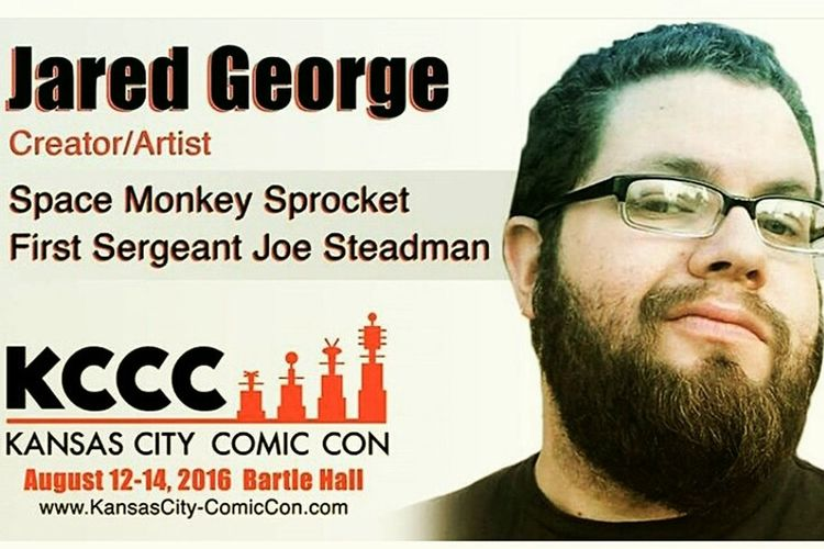Freelance Life Kansas City Comic Con 2016 Jaredgeorgeart Indie Comics
