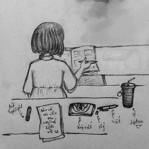 Chuyện sáng nay đi học Ngồi vẽ vời cô bạn tóc ngắn ngồi bàn trên! 📖📑📝✏💬 Mêgái Vẽtinhlinh Mấttậptrung Chuyênngành Auditing Notstudying Drawing Drawingirl Free Everybodyisbusy Onlymeatfree