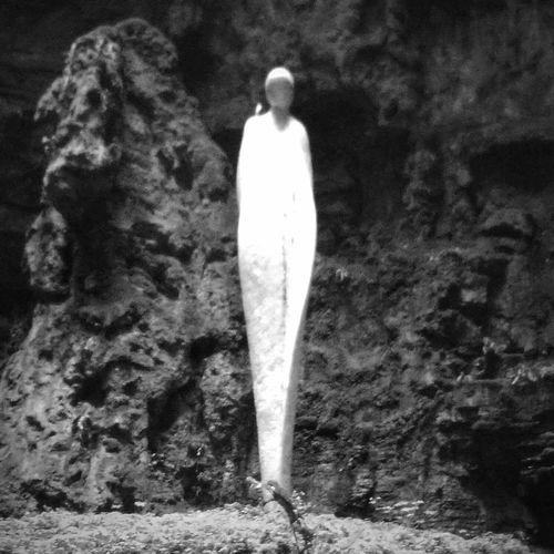 France Padirac Lot Dordogne Occitanie Gouffre De Padirac Riviere Souterraine Statue Noir Et Blanc Silouette Oiseau