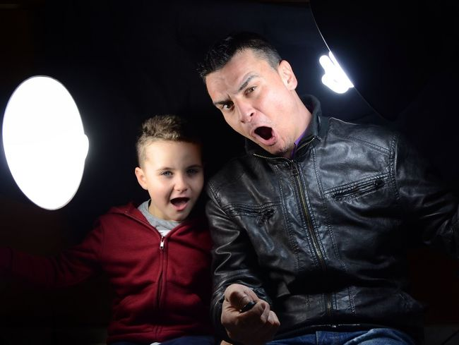 Today...funny in studio Just For Fun Funny Happy StudioSession Working Game Portrait Me And My Son My Son Father & Son Love Real Life The Portraitist - 2016 EyeEm Awards