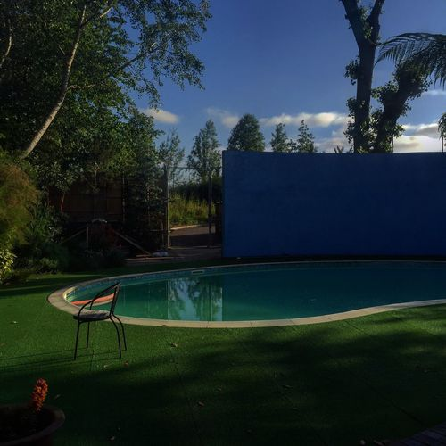 Pool party Pool Garden House House Pool