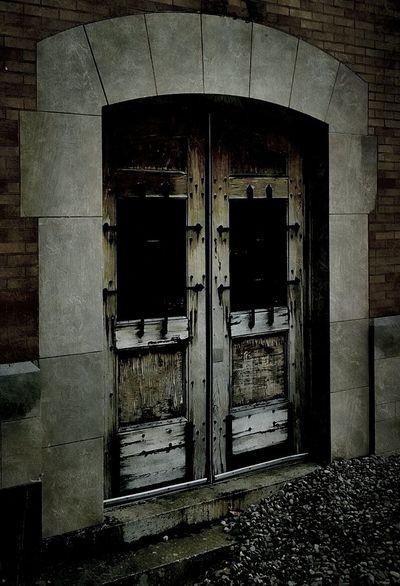 Dark Doors Bleached Beautiful Decay