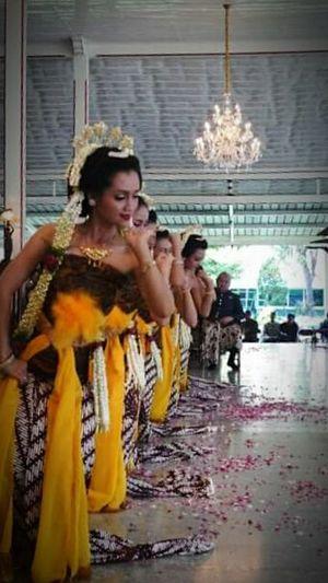 Dancers Javanese Culture Pakualaman Wonderful Yogyakarta