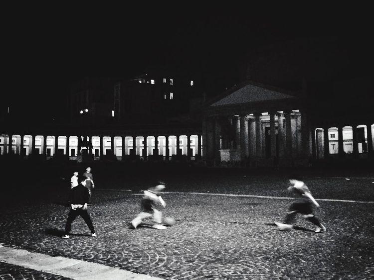 Napul'è Blackandwhite Enjoying Life Kids Playing Napoli