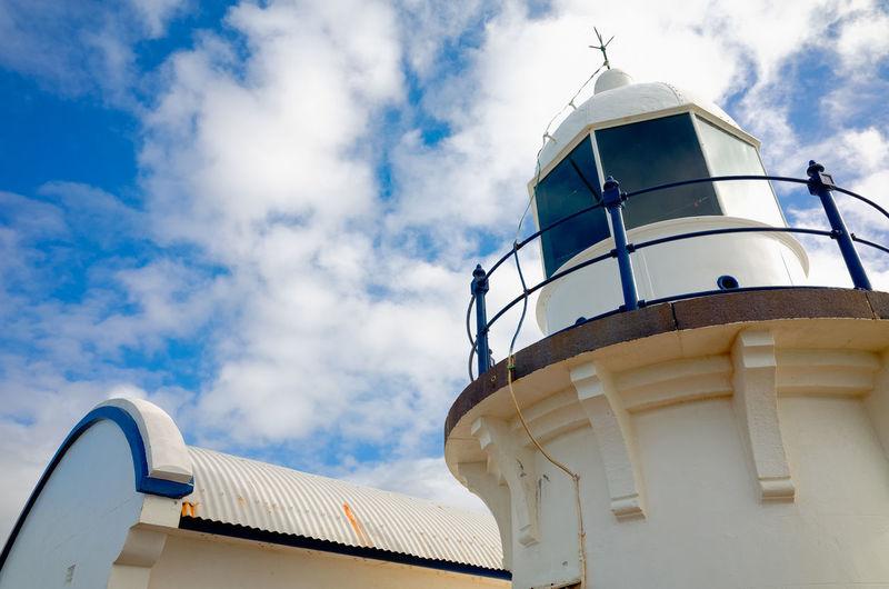 Lighthouse tower. Port Macquarie, Australia. Tower Architecture Built Structure Building Exterior Exterior Blue White Australia Port Macquarie Lighthouse