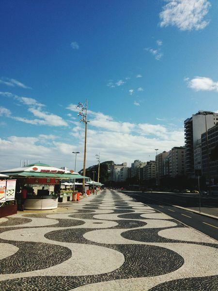 Rio De Janeiro Eyeem Fotos Collection⛵ Rio Brazil Brasil Day Photography Blue Rio De Janeiro Errejota  Photo Copacabana Copacabana Beach Copacabana - Rio De Janeiro Blue Sky Sky Sun