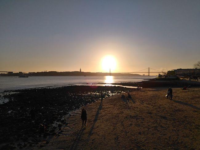Tejo, Lisboa, pt Tejo River Sunset Neartheriver