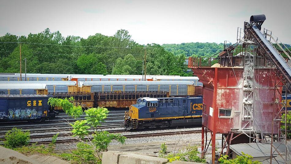Connellsville Samsung Galaxy S6 Camera Taking Photos Railroad Trains